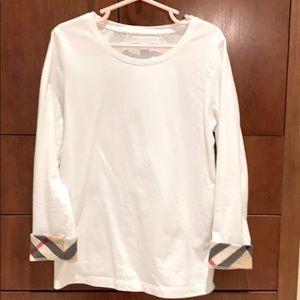 NWOT Burberry Children Tulisa check shirt